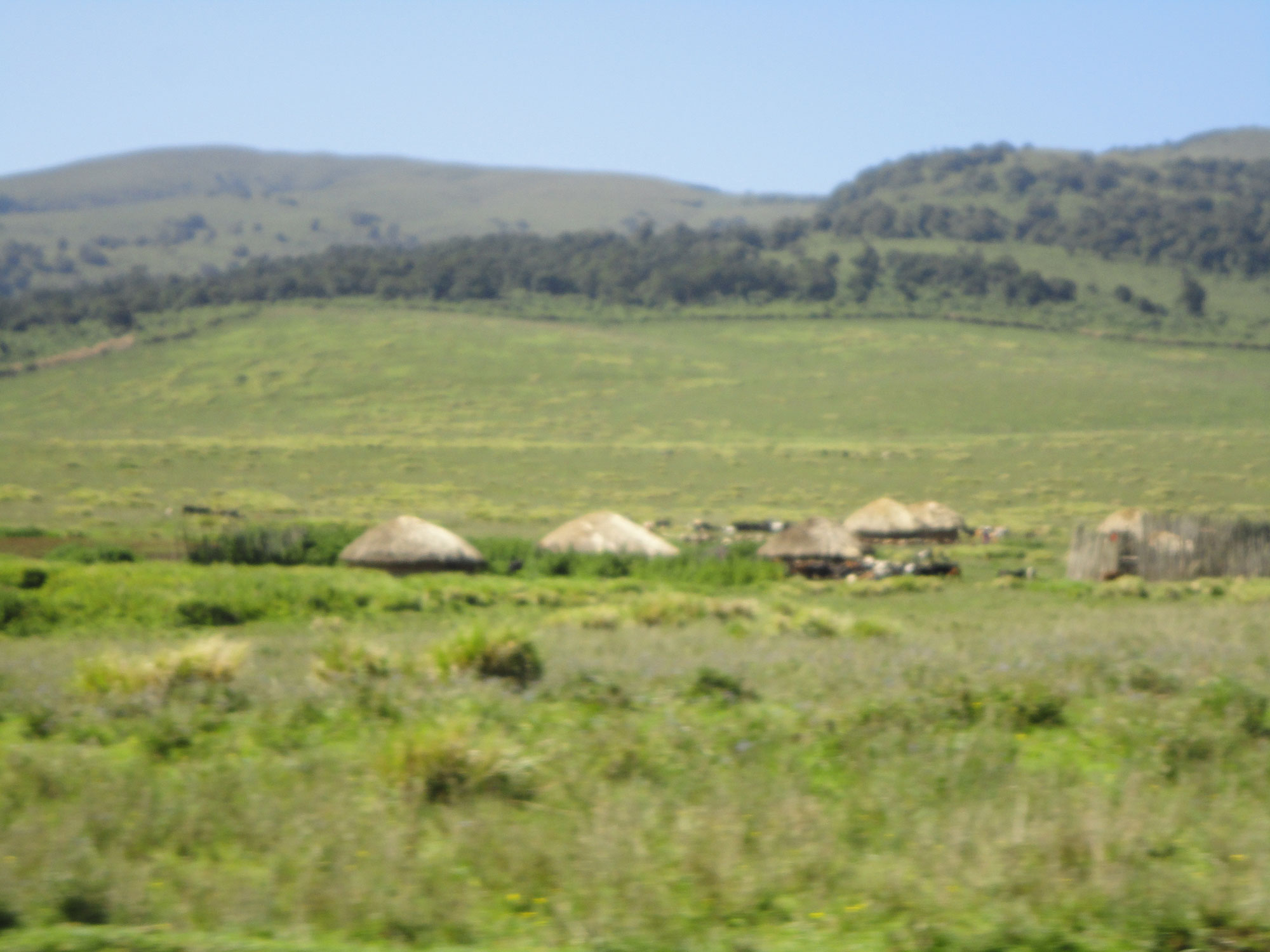 Travel Medicine - Typical Massai Village